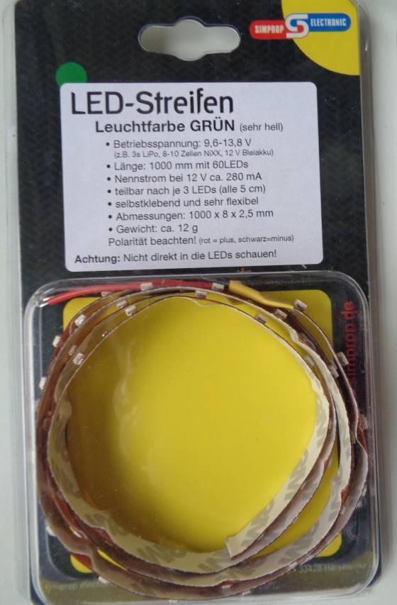 LED-Streifen - 100 cm -grün