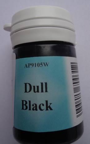 Matt schwarz (Dull black) Admiralitäts-Farbe, 15 ml