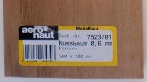 Nußbaum-Furnier/Brettchen