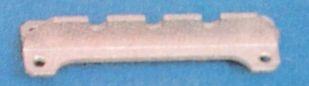 Mastschiene Alu, 54 x 15 x 10 mm