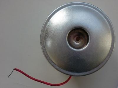 Hupe 3V vern., elektr. Hupe, vernicktelt, Ø  49 mm, 3 Volt