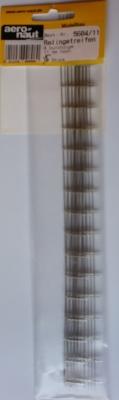 Relingstreifen, vernickelt,  wie AE560411, jedoch 5 Stück