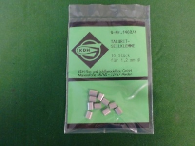 Talurit-Seilklemmen für 1,2 mm (10 Stück)