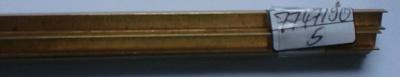 Messing-U-Profile 6x4, je 1 m lang
