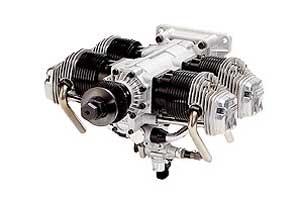 OS MAX FF 320  - Boxermotor-