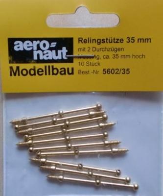 Relingstütze 2D/35mm    Ø 1.5 mm