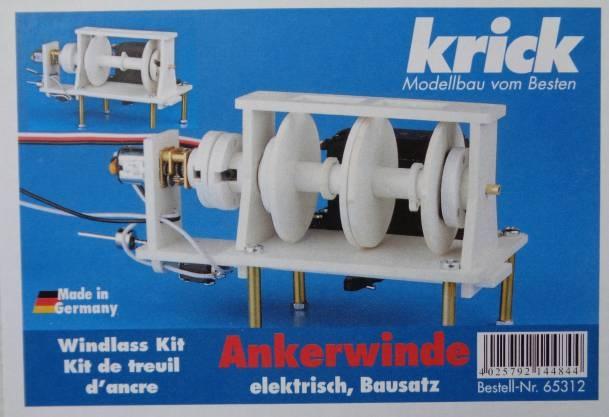 Elektrische Ankerwinde Bausatz -Neu-,