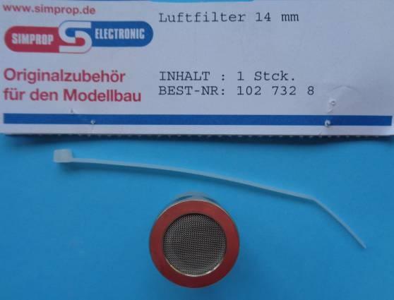 Luftfilter 14 mm