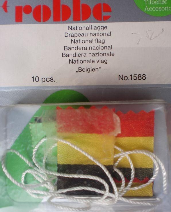 Nationalflagge Belgien, 2 Stück