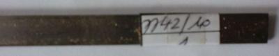 Flachstahl 1 m / 10 x 1,2 mm, passend f. Messingr. AE774111