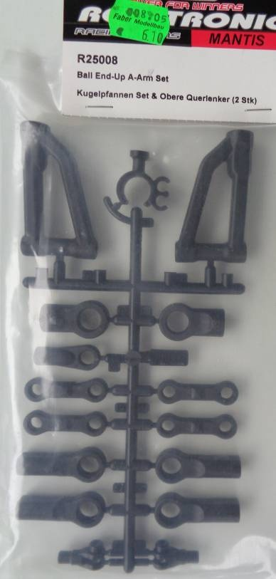 Kugelpfannen Set & Obere Querlenker, 2 Stück
