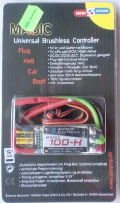 Magic 100-H, Uni versal-Brushless-Controler  -NEU-