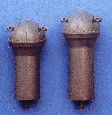 Entfernungsmesser (Plastik) Ø 20 mm, 44 mm hoch, 2 Stück