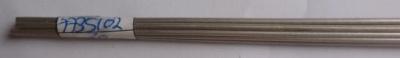 Alu-Rohr, halbhart nahtlos, außen 2 mm, innen 1.6 mm, 1m lg.