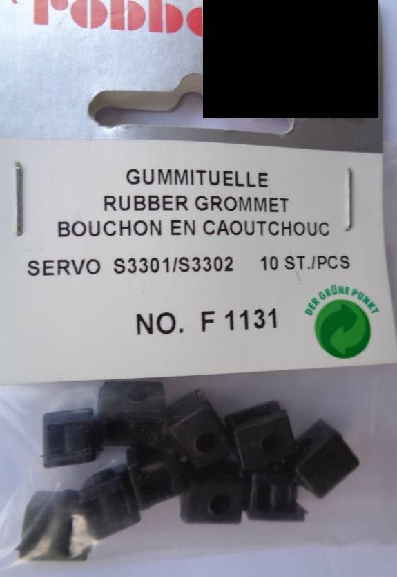 Gummituelle S3301/02 10Stk