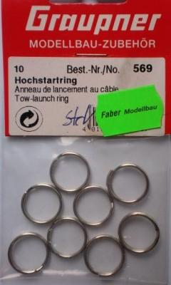 Hochstartringe 16 mm,  10 Stück