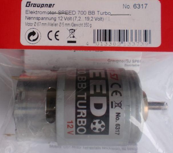 SPEED 700 BB Turbo 12 V   - vorrätig -