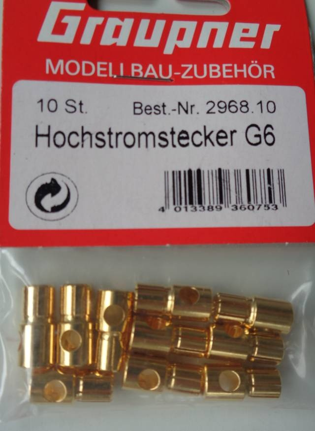 Hochstromstecker G6(10)