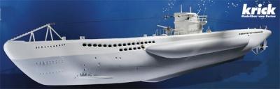 U-Boot Typ VII Grundbaukasten