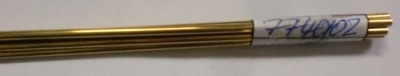 Messingrohr  2.0/1.1 mm, Länge 1 m, 1 Stück
