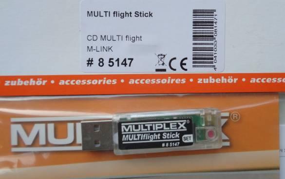 MULTIflight Stick  (siehe mehrere Fotos),