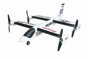 X44 RS-Elektroflugmodell, Senkrechtstarter elek. (70 cm)