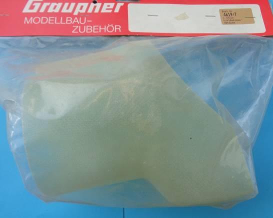 Kühlgebläsegehäuse, GfK,         Ø 12 cm