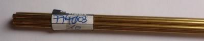 Messingrohr  3.0/1,6 mm, Länge 1 m, 1 Stück