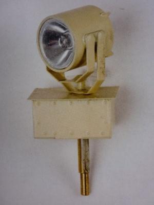Scheinwerfer-Bausatz 14 mm f. LED 6-12 V, neusilber, -Neu-