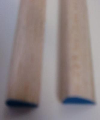 Balsa-Nasenleisten,blau, Querschn./Ø  10 x 15 mm, 1 m lang