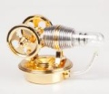 Twin-Stirlingmotor, montiert  - Heißluftmotor -